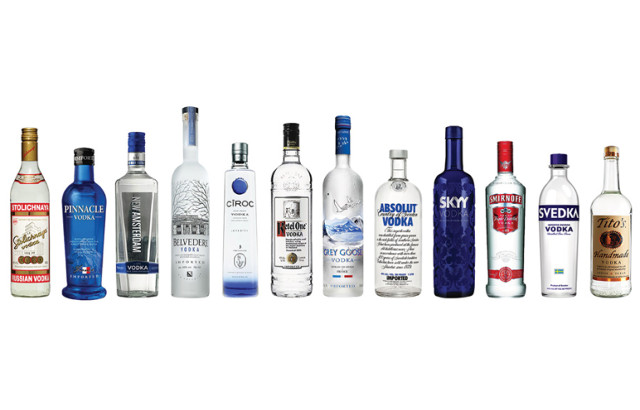 Vodka Selection